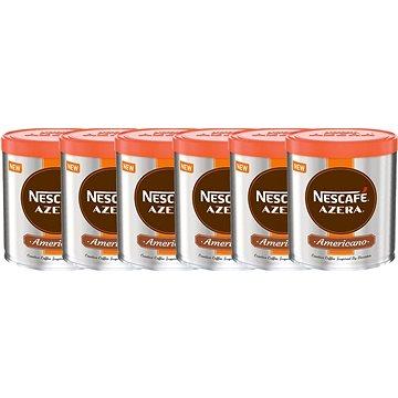 Nescafe Azera Americano, instantní, 6x60g (7613035744202)