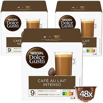 NESCAFÉ Dolce Gusto Café Au Lait Intenso, 3 balení (7613036072229)