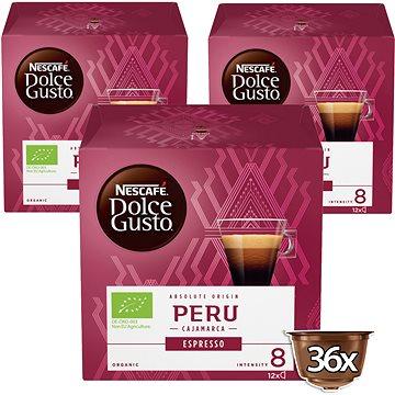 NESCAFÉ Dolce Gusto Peru Cajamarca Espresso 12ks x 3 (12360021)