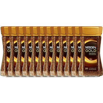 Nescafe Gold Original, instantní, 12x100g (7610100026782)