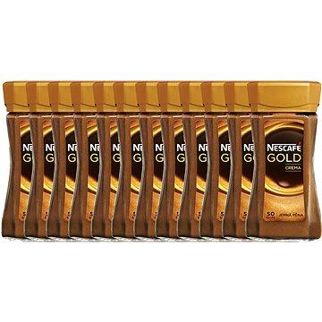 NESCAFE GOLD Crema Sklo 12x100g CZ (7613034074492)