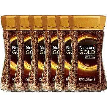 Nescafe Gold Original, instantní, 6x200g (7610100026126)