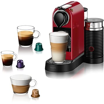 NESPRESSO Krups Citiz & Milk Red XN761510 (XN761510)