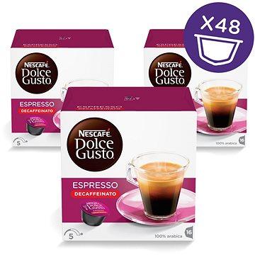 Nescafé Dolce Gusto Espresso Decaffeinato Red 16ks x 3 (12281214)