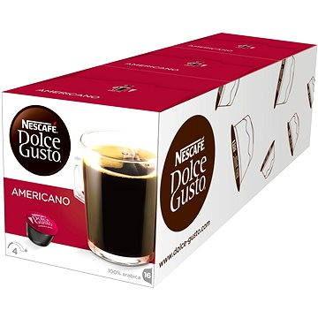 Nescafé Dolce Gusto Americano 16ks x 3 (12115461)