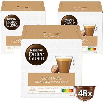 Nescafé Dolce Gusto Cortado 16ks x 3 (12122140)
