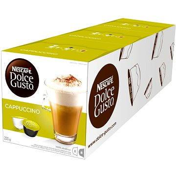 Nescafé Dolce Gusto Cappuccino 16ks x 3 (12074617)