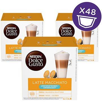 Nescafé Dolce Gusto Latte Macchiato bez cukru 16ks x 3 (12120283)