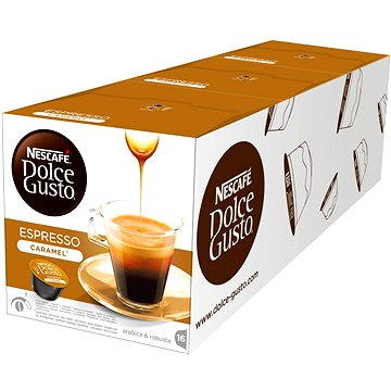 Nescafé Dolce Gusto Espresso Caramel 16ks x 3 (12225287)