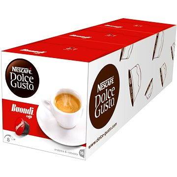 Nescafé Dolce Gusto Espresso Buondi, 16ks x 3 (12142998)