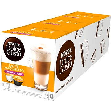 Nescafé Dolce Gusto Latte Macchiatto LIGHT 16ks x 3 (12120272)