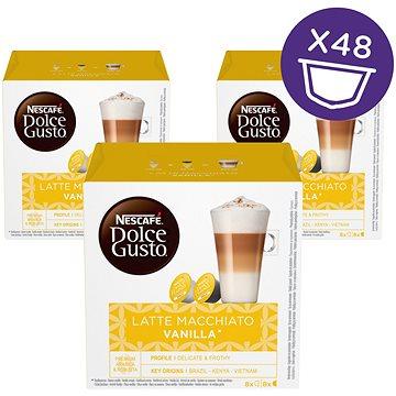 Nescafé Dolce Gusto Latté Macchiato Vanilla 16ks x 3 (12125501)