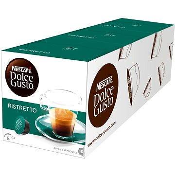 Nescafé Dolce Gusto Espresso Ristretto 16ks x 3 (12089916)