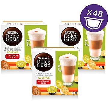Nescafé Dolce Gusto Bílý mix 16ks x 3 (12303800)