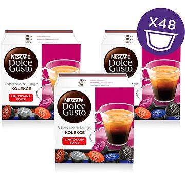 Nescafé Dolce Gusto Černý mix 16ks x 3 (12303677)