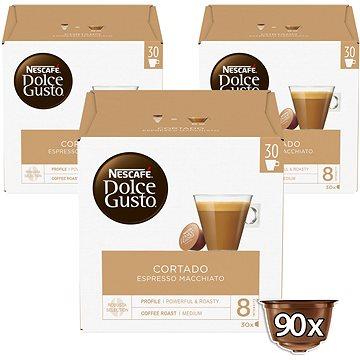 Nescafé Dolce Gusto Cortado Espresso Macchiato 30ks x 3 (12226788)
