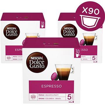 Nescafe Dolce Gusto Espresso 30ks x 3 (12225300)