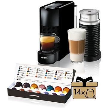 Nespresso Krups Essenza Mini XN1118 (XN111810) + ZDARMA Termohrnek NESPRESSO ICED COFFEE TRAVEL MUG