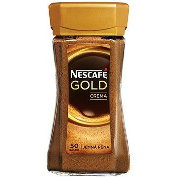 Nescafe, GOLD Crema Sklo 100g (7613034074492)