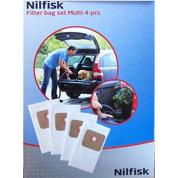 Nilfisk Sada odpadních sáčků, 4ks (107402336)