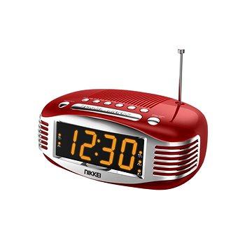 Radiobudík Nikkei NR400RD červený