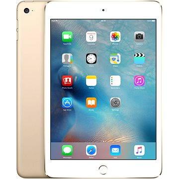 iPad mini 4 s Retina displejem 128GB WiFi Gold (MK9Q2FD/A) + ZDARMA Digitální předplatné Interview - SK - Roční od ALZY Digitální předplatné Týden - roční Digitální předplatné SuperApple Magazín - Půlroční předplatné Alza
