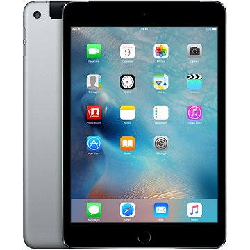iPad mini 4 s Retina displejem 128GB Cellular Space Gray (MK762FD/A)
