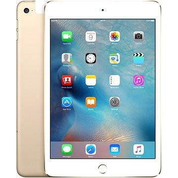 iPad mini 4 s Retina displejem 128GB Cellular Gold (MK782FD/A)