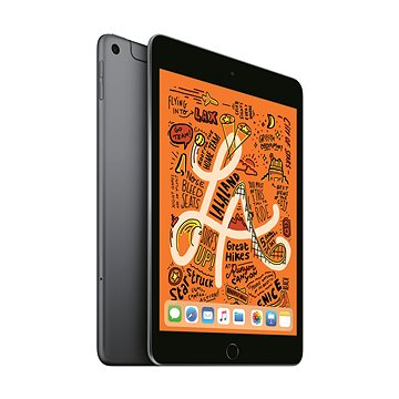 iPad mini 64GB Cellular Vesmírně šedý 2019 (MUX52FD/A)