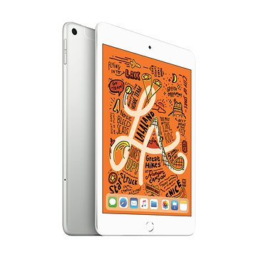 iPad mini 256GB Cellular Stříbrný 2019 (MUXD2FD/A)