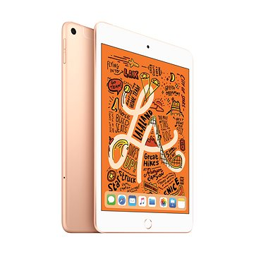 iPad mini 256GB Cellular Zlatý 2019 (MUXE2FD/A)