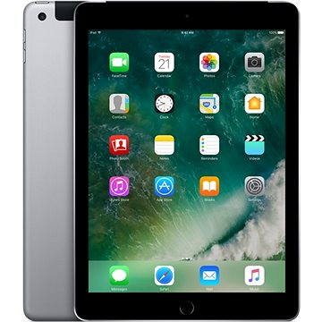 iPad 128GB WiFi Cellular Vesmírně šedý 2017 (MP262FD/A)