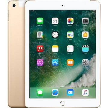 iPad 128GB WiFi Cellular Zlatý 2017 (MPG52FD/A)