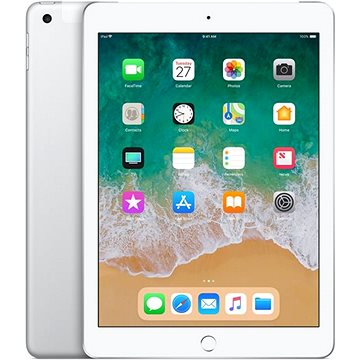iPad 32GB WiFi Cellular Stříbrný 2018 (MR6P2FD/A)
