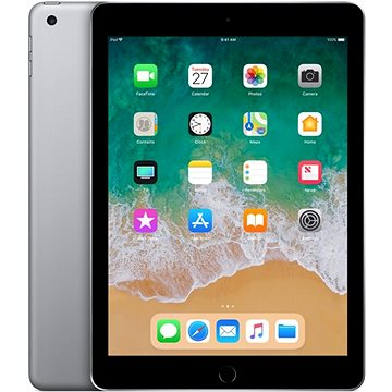 iPad 128GB WiFi Vesmírně šedý 2018 (MR7J2FD/A)