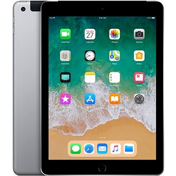 iPad 128GB WiFi Cellular Vesmírně šedý 2018 (MR722FD/A)