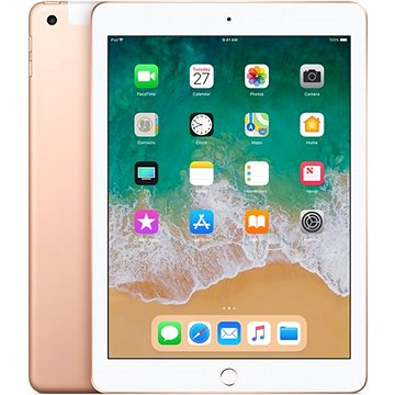 iPad 128GB WiFi Cellular Zlatý 2018 (MRM22FD/A)