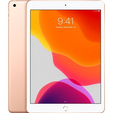 iPad 10.2 32GB WiFi Cellular Zlatý 2019 (MW6D2FD/A)