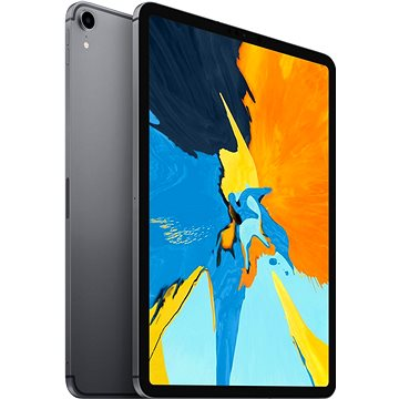 """iPad Pro 11"""" 256GB Cellular Vesmírně šedý 2018 (MU102FD/A)"""