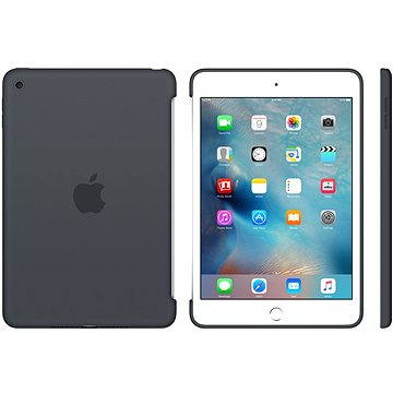 Silicone Case iPad mini 4 Charcoal Gray (MKLK2ZM/A)