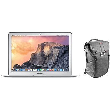 MacBook Air 13 CZ + Peak Design Everyday Backpack 20L - tmavě šedá