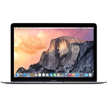 MacBook 12 CZ Space Gray 2016 (Z0SL0003V) + ZDARMA Poukaz v hodnotě 500 Kč (elektronický) na příslušenství k notebookům. Poukaz má platnost do 30.5.2017.