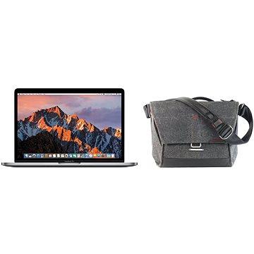 MacBook Pro 13 Retina CZ 2017 Vesmírně šedý + Peak Design Everyday Messenger 13- tmavě šedá