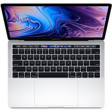 """MacBook Pro 13"""" Retina US 2018 s Touch Barem Stříbrný (Z0V9001H2)"""