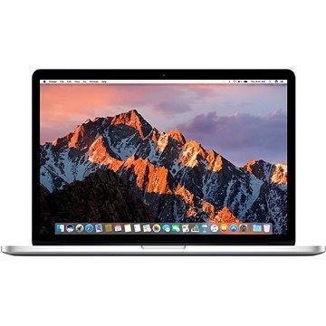MacBook Pro 15 Retina CZ 2016 s Touch Barem Stříbrný (MLW72CZ/A)
