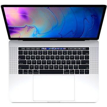 """MacBook Pro 15"""" Retina ENG 2018 s Touch Barem Stříbrný (Z0V1001MS)"""