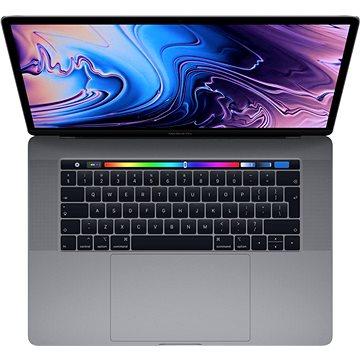 """MacBook Pro 15"""" Retina CZ 2019 s Touch Barem Vesmírně šedý (MV912CZ/A)"""