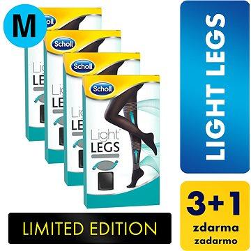 SCHOLL Light Legs 60DEN kompresní punčochové kalhoty černé M 3+1 ks (5997321772523)