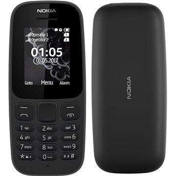 Nokia 105 (2017) černá Dual SIM (A00028348)