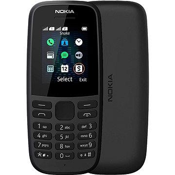 Nokia 105 (2019) černá Dual SIM